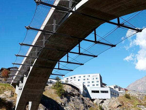 桥梁防坠绳网