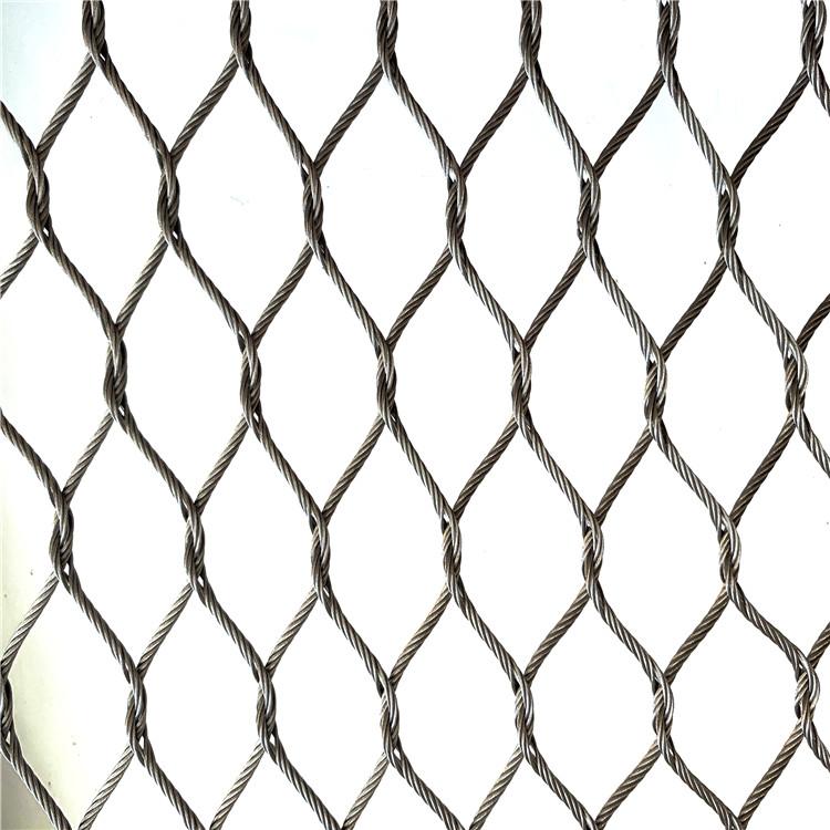 手编不锈钢绳网