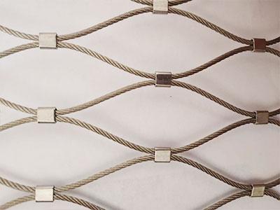 卡扣不锈钢绳网
