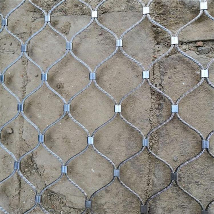 小区防外墙瓷砖脱落坠物钢丝绳网