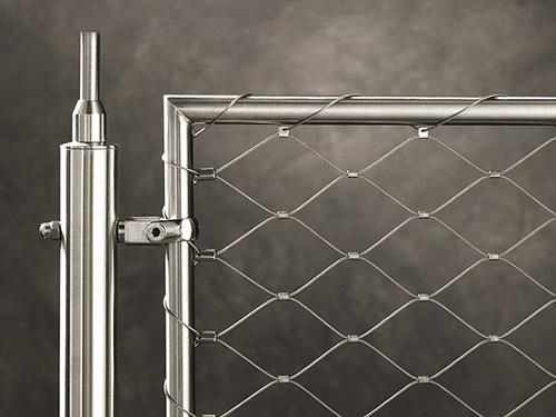 桥梁防护网 不锈钢绳安全护栏