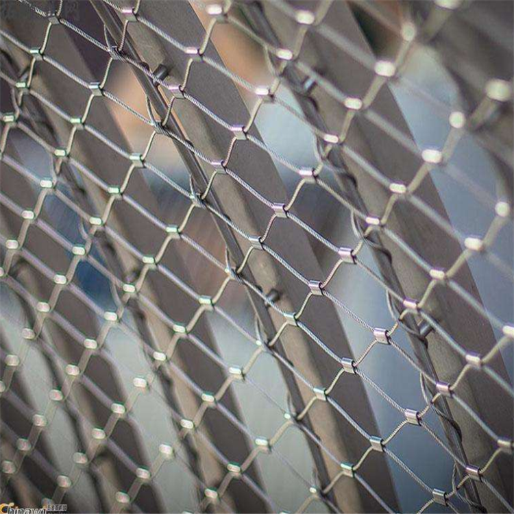 不锈钢绳网也是的防高空坠物网