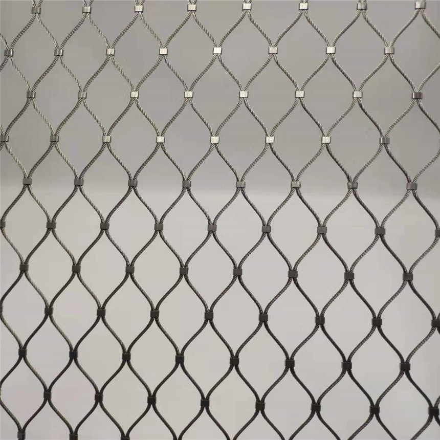 不锈钢绳网认定河北聚隆 定制高空防坠网