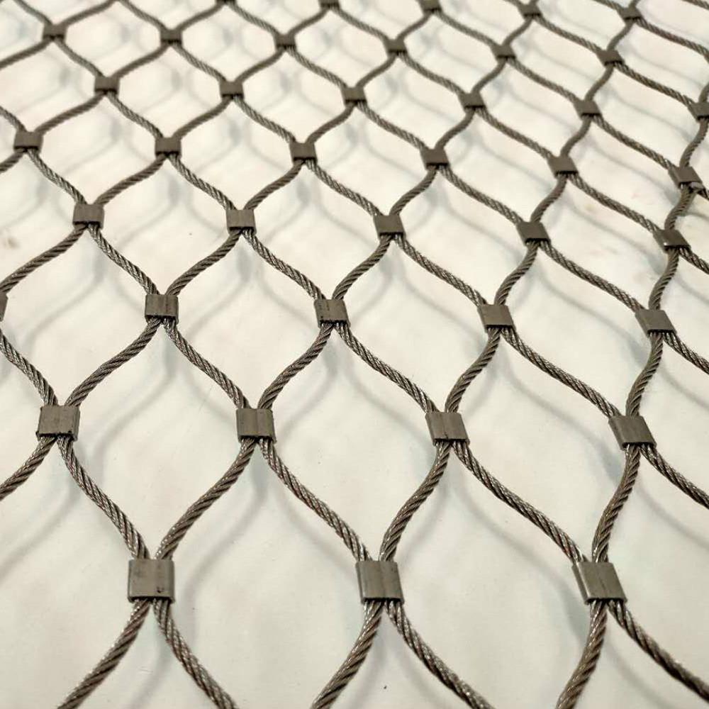 不锈钢丝绳防护网规格
