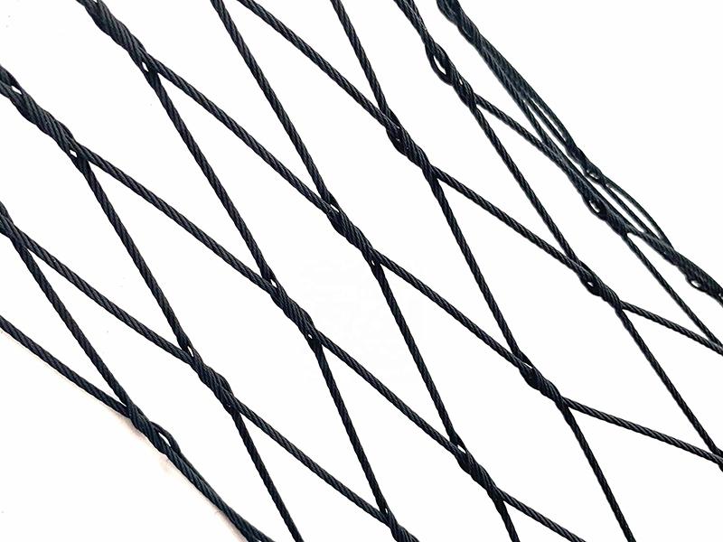 黑色氧化不锈钢绳网